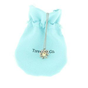 TIFFANY & CO. PICCASO DAISY FLOWER PENDANT 18K 925